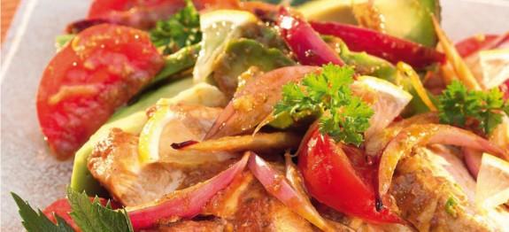 Mexikói hússaláta