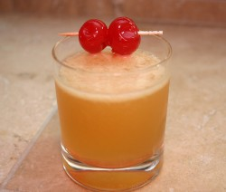 Whiskey Sour koktél