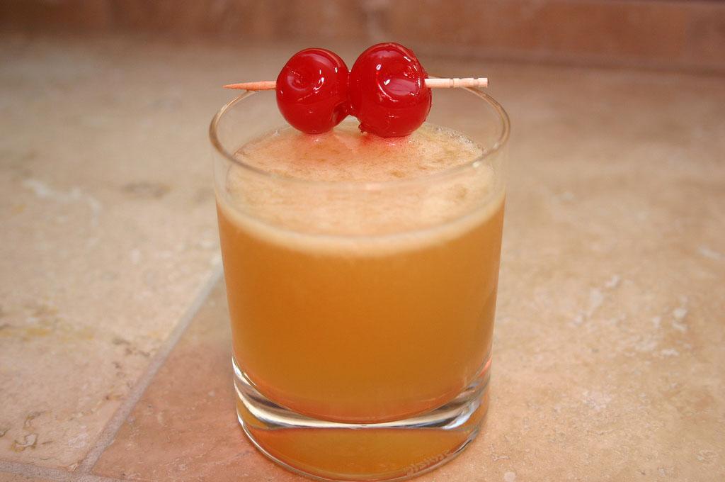 Whiskey Sour koktél