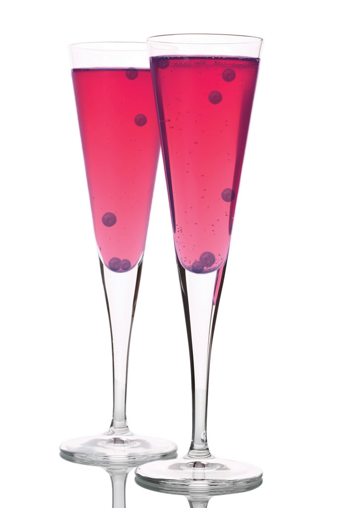 Kir Royal koktél