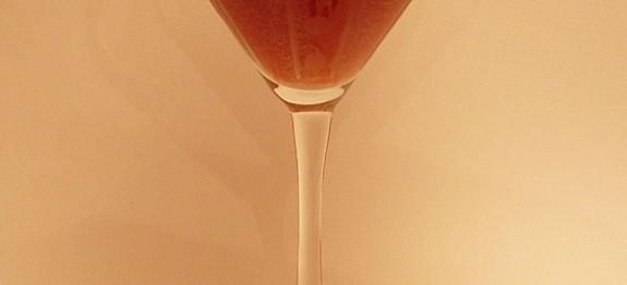 Raspberry Souffle Martini koktél