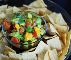 Tequila Mango Avocado Salsa saláta