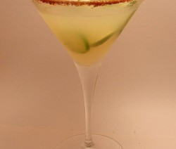 Pineapple Chili Margarita koktél