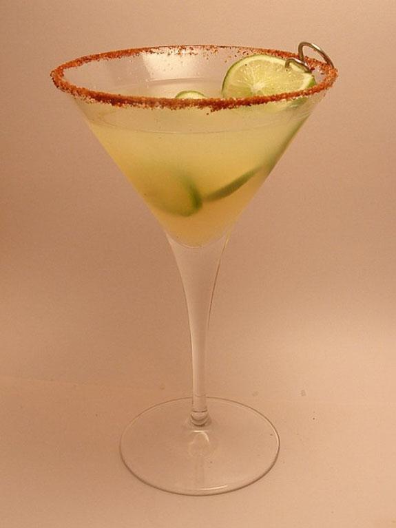 Pineapple Chili Margarita koktél