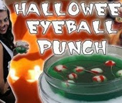 Halloween Eyeball Liquid Marijuana Punch bólé
