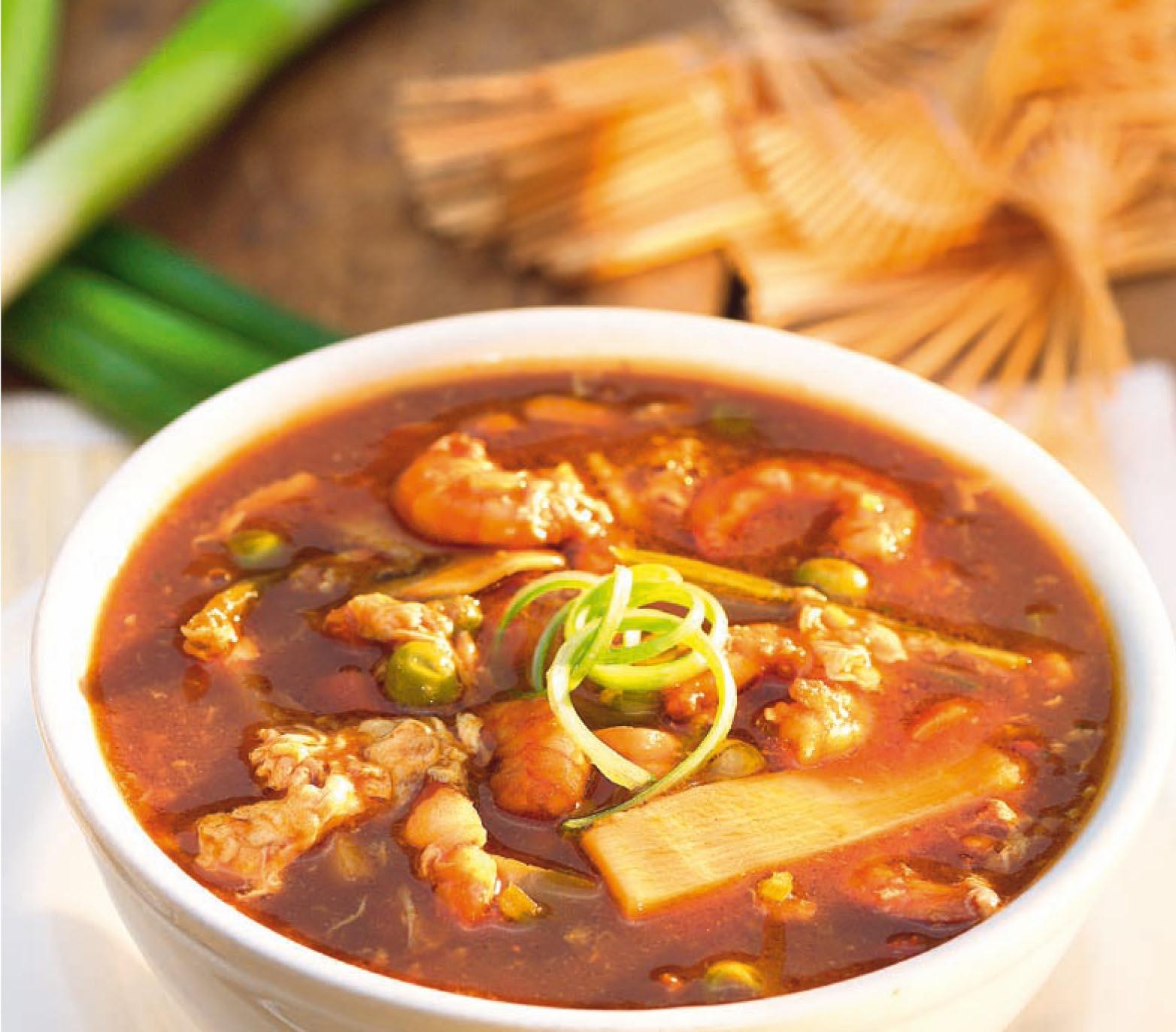 Csípős-savanyú leves