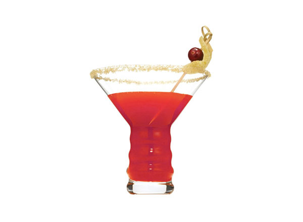 Iceberg Cran-Ginger Martini koktél