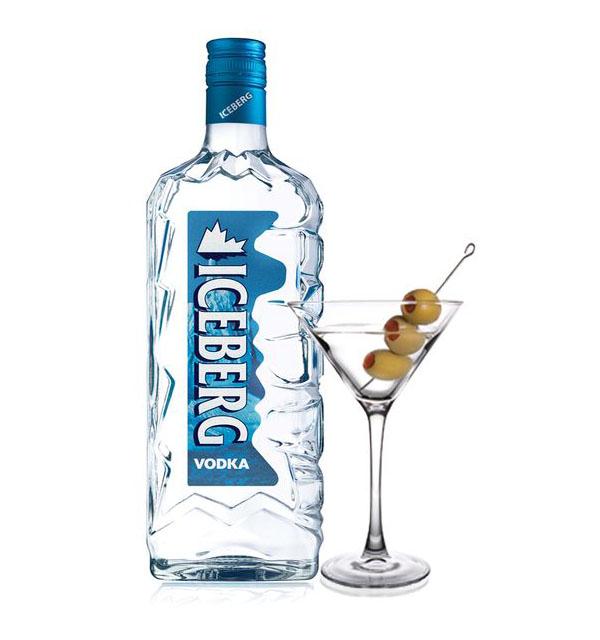 Iceberg Vodka Martini koktél