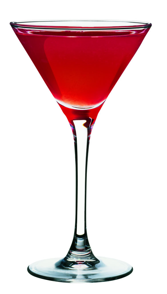 Red Rose Martini koktél