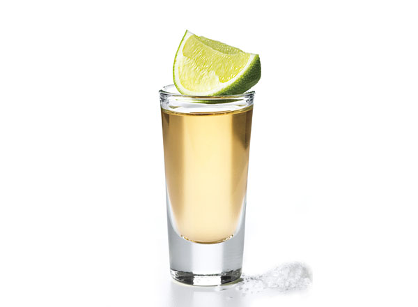 Tequila Gold Shot koktél