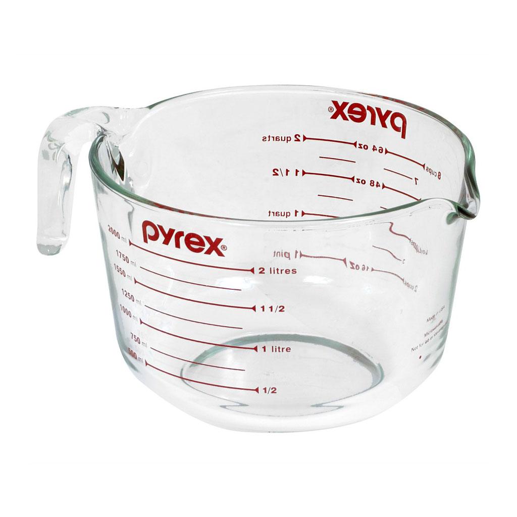 Pyrex mérőeszköz