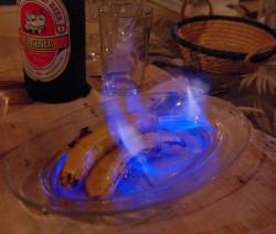 Lángoló banán