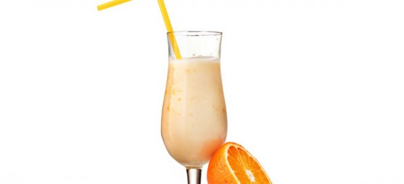 Narancsos turmix fagylalttal