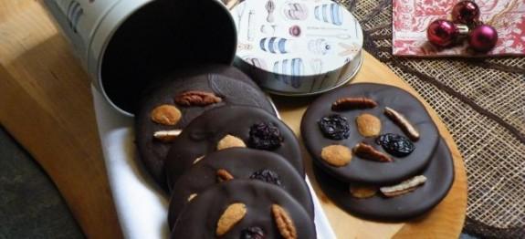 Csokoládé tallér
