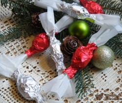 Limoncellos Szaloncukor - rózsavízzel és áfonyával