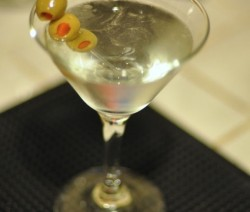 Peppar Vodka Martini