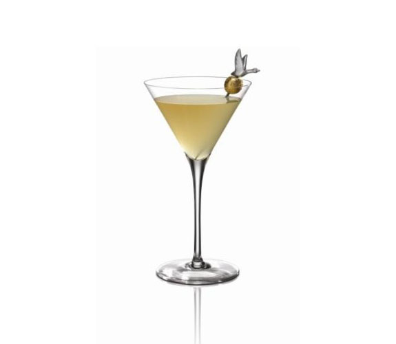 Gold Rush Martini koktél