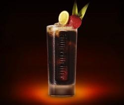 Jäger Spice & Cola koktél