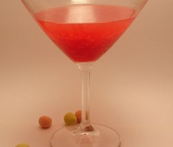 Chocolate Raspberry Martini koktél