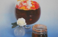Mézes rózsakocsonya
