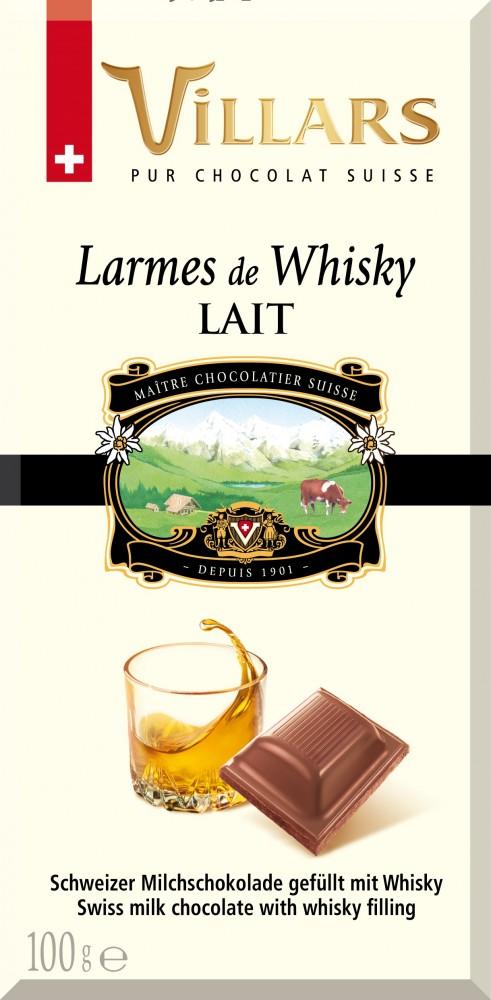 Villars tábla csoki whiskey
