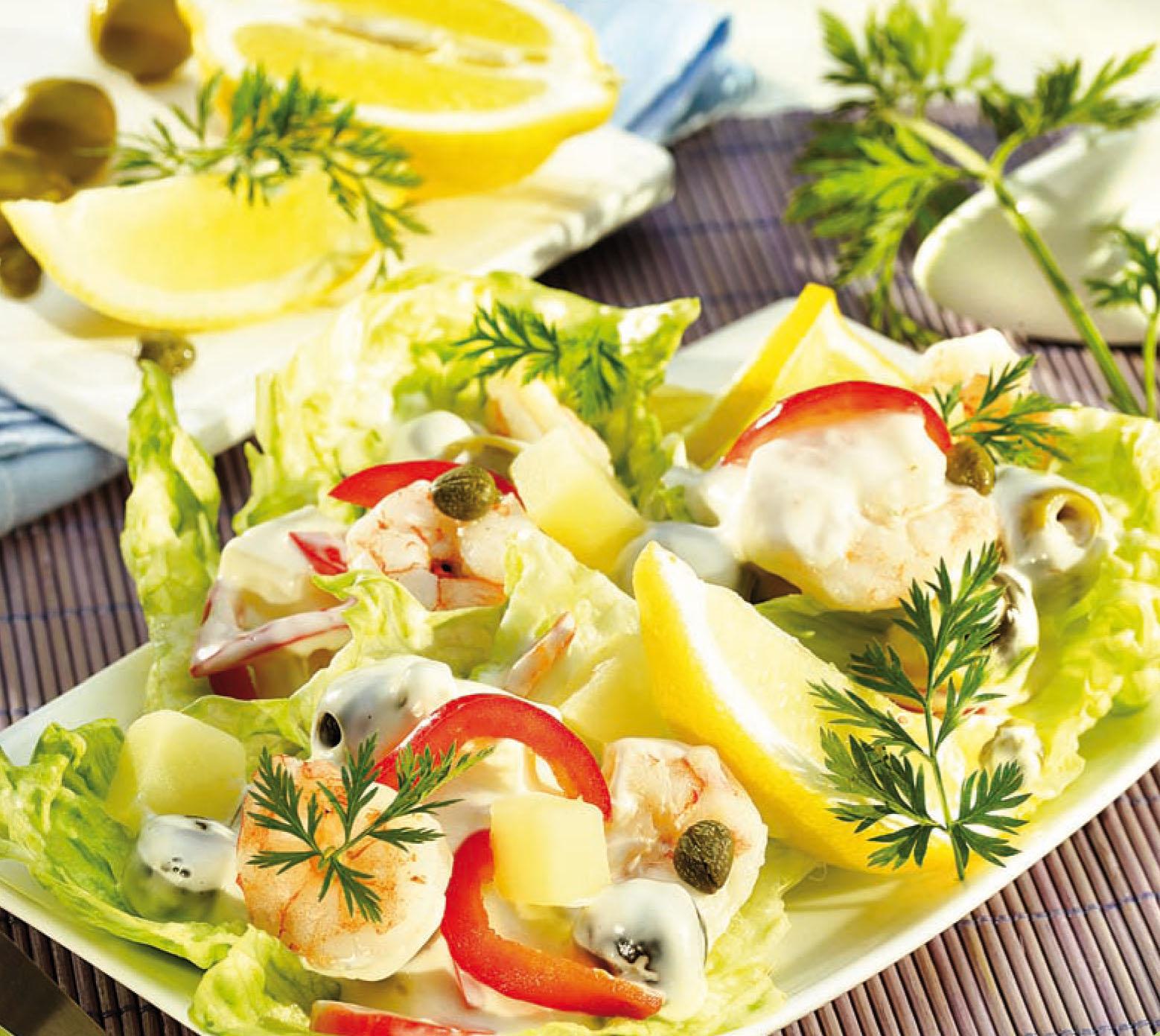 Tengeri salpicon saláta