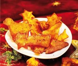 Fenyőchips - karácsonyi burgonya