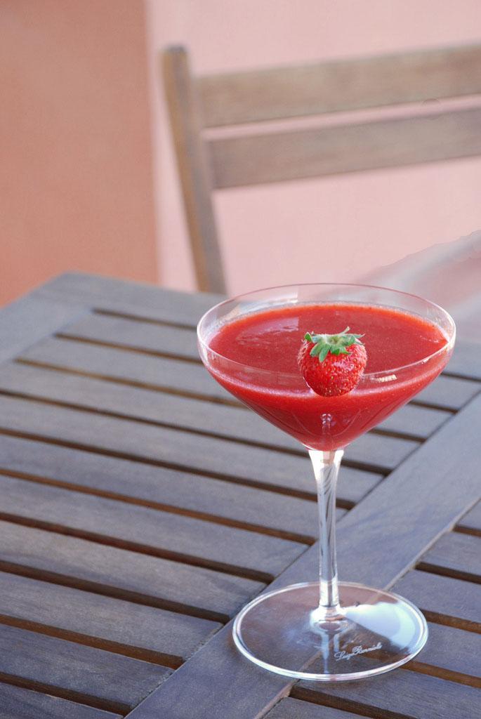 Strawberry Daiquiri koktél