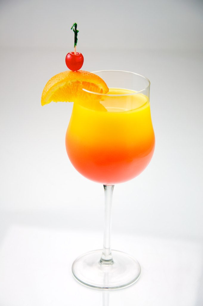 Tequila Sunrise koktél
