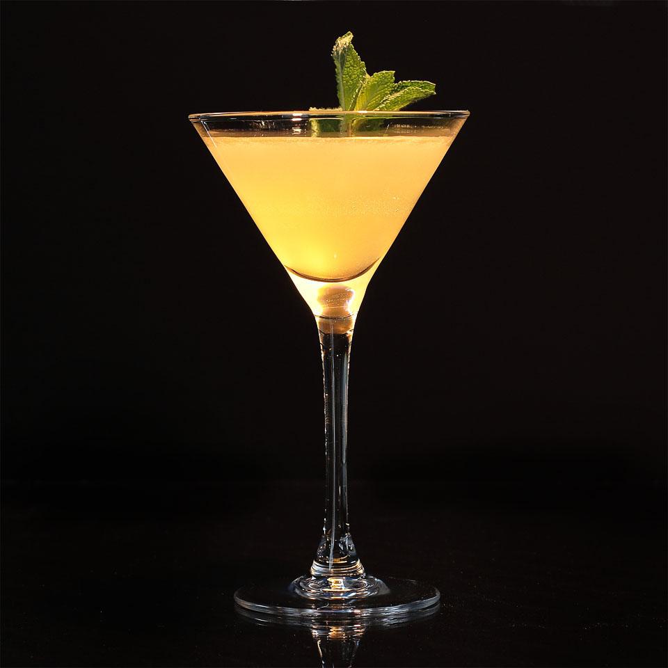 Apricot Vodka Martini koktél