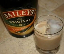 Baileys Over Ice koktél