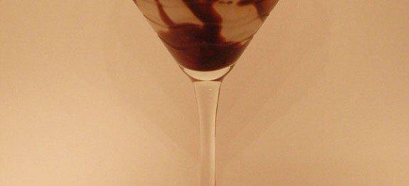 Chocolate Swirl Martini koktél