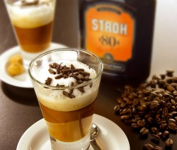 STROHpresso koktél