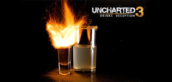 Uncharted 3: Drake's Deception koktél