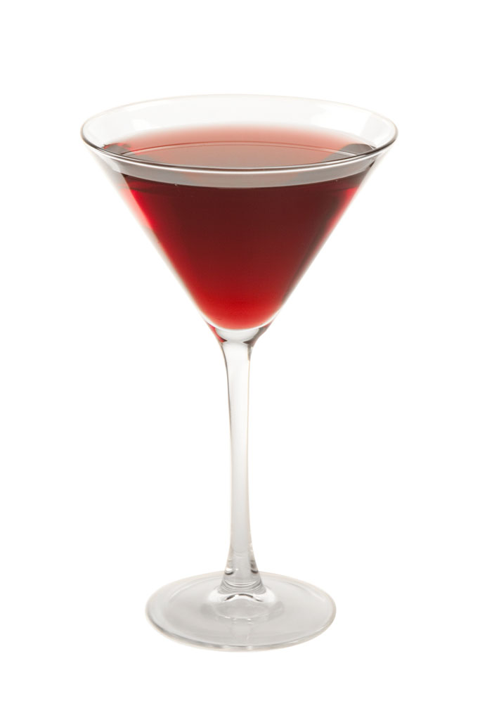 Blood Martini koktél