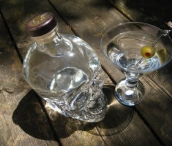 Crystal Head Pure-tini koktél