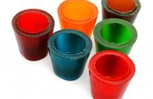 Gumicukor pohár