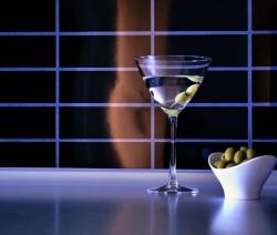 007 Martini koktél