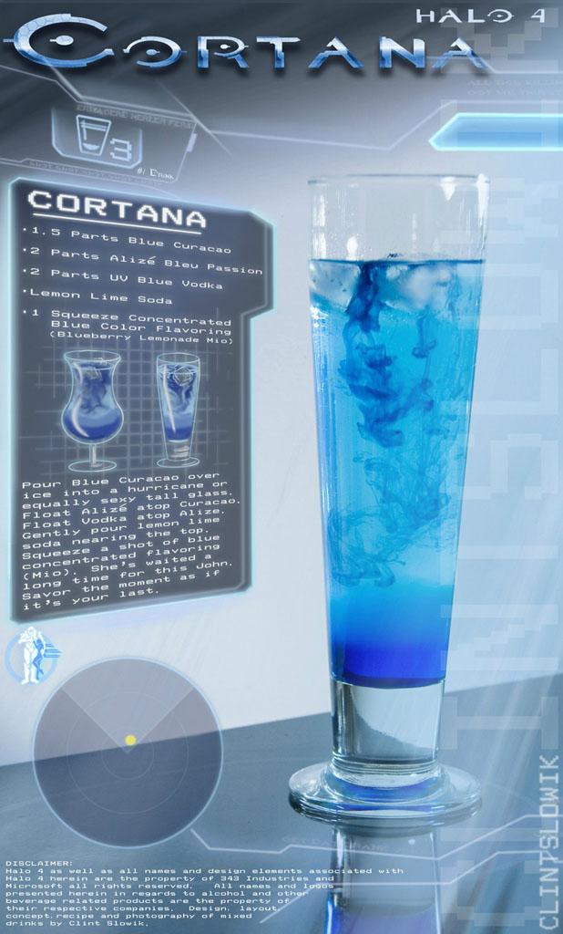 Halo: Cortana koktél