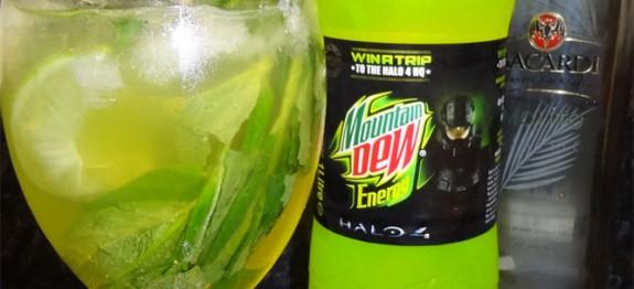 Halo: Master Chief Mojito koktél