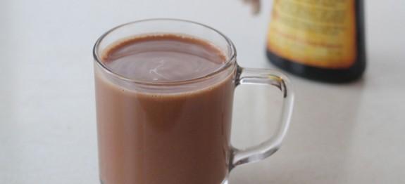 Csokoládés-mogyorós kávé
