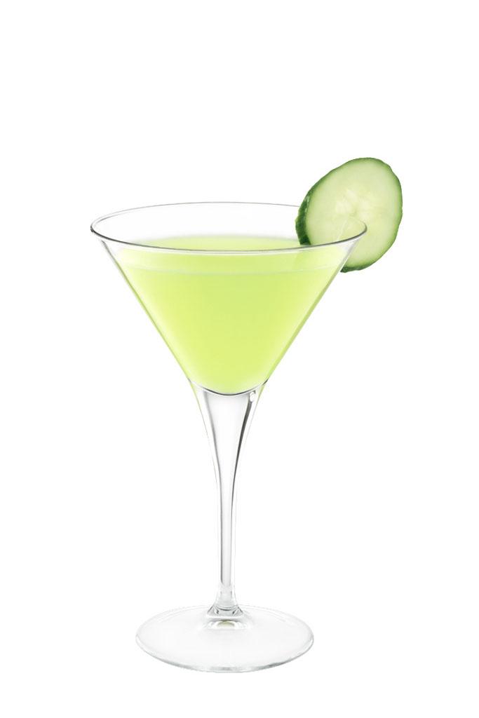 Cucumber Martini koktél