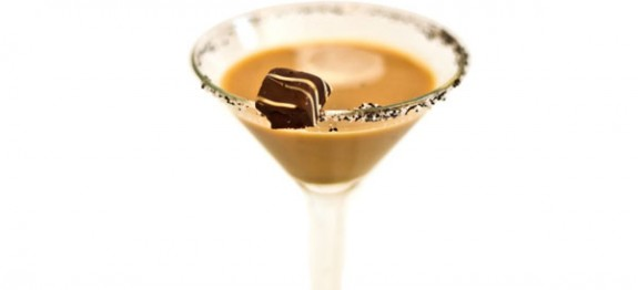 Chocolate Seduction Martini koktél
