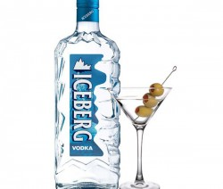Iceberg Vodka Martini koktél