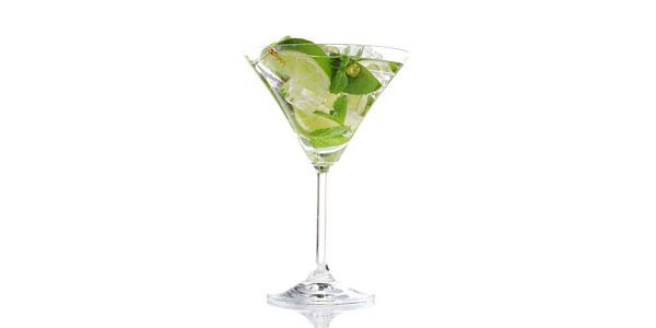 Mojito Martini koktél