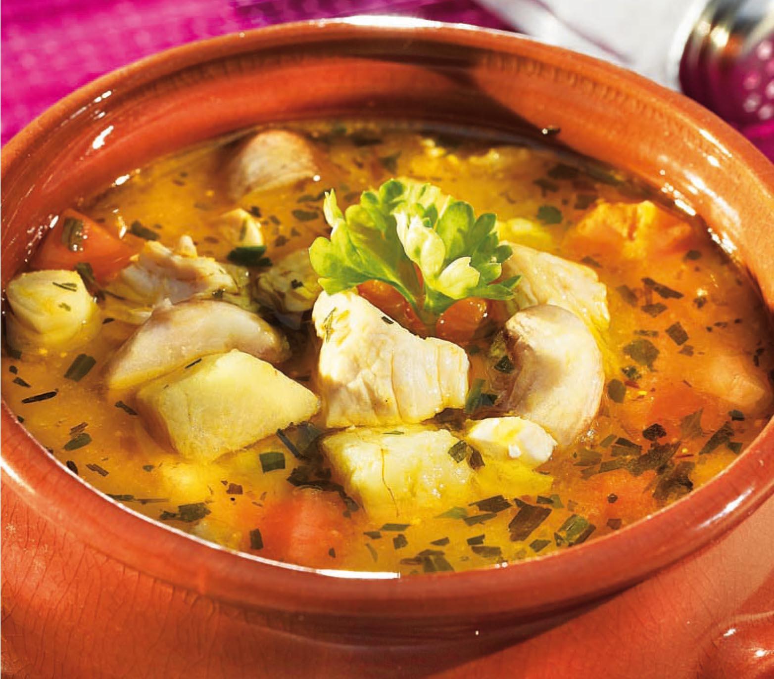 Pulykabecsinált leves