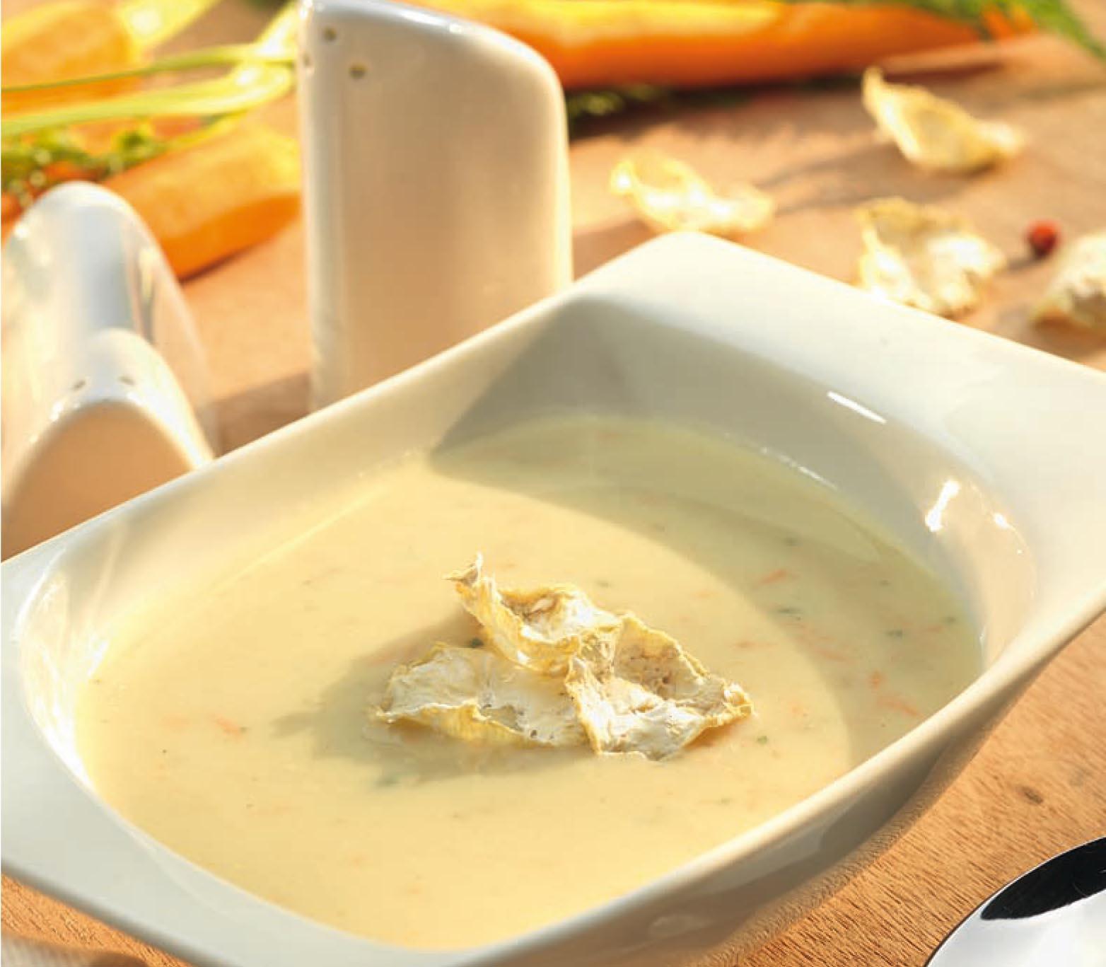 Tavaszi hideg zöldségkrém leves