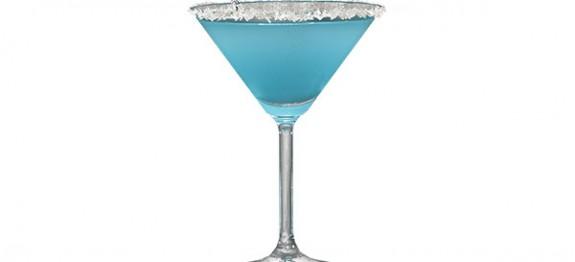 Snowflake Martini koktél