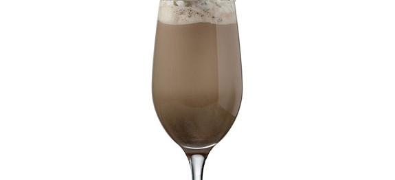 Csokoládés turmix szójatejjel és joghurttal