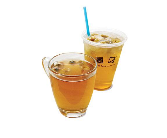 Mézes-citromos tea krizantémmal